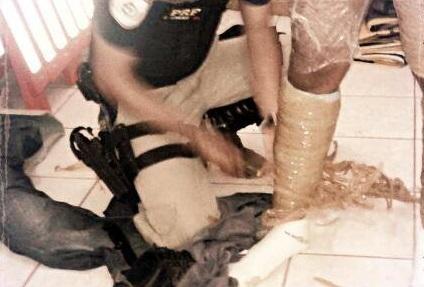 Jovem é presa com 5kg de cocaína em Ariquemes