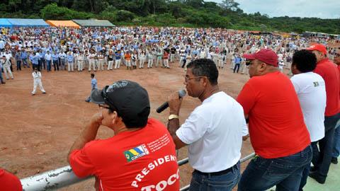 Paralisação em Santo Antônio: trabalhadores reivindicam reajuste salarial