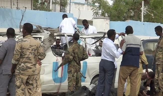 Islamitas shebab reivindicam autoria de atentado contra carro da ONU