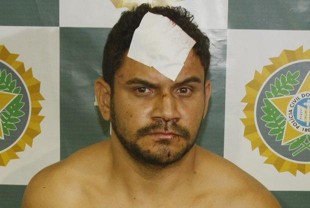 Milton Severiano Vieira, o Miltinho das Vans, foi preso após roubar e colidir com o carro de um policial militar Foto:  Osvaldo Praddo / Agência O Dia