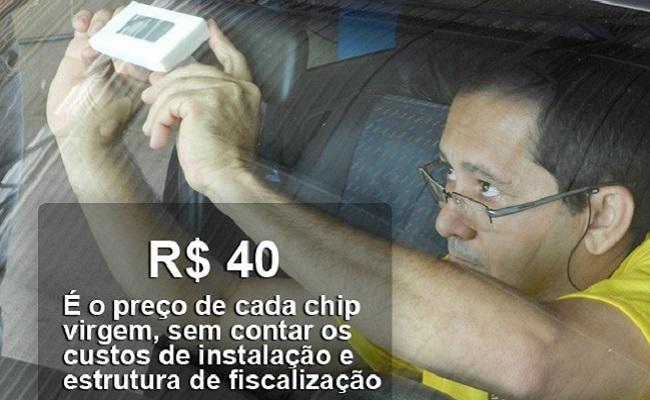 Carros brasileiros terão que usar chips de identificação daqui a 2 meses