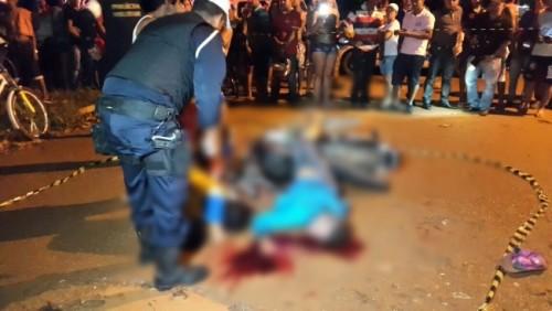 Acerto de contas termina com três jovens mortos e policial militar baleado na zona Leste de Porto Velho