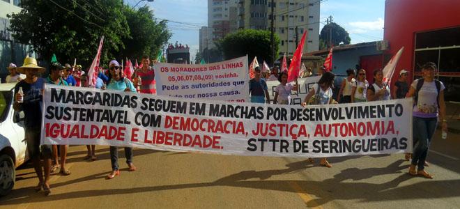 Marcha das Margaridas encerra a mobilização Grito da Terra