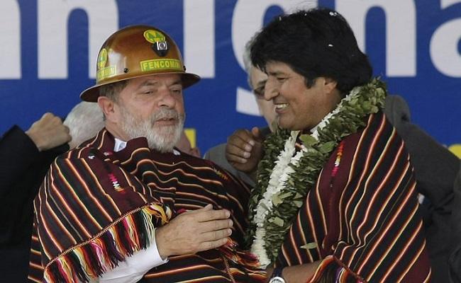 Lula e Evo Morales cumprem agenda no Acre