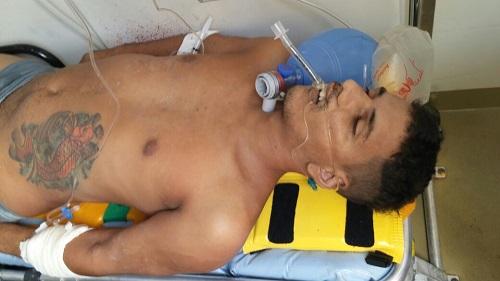 André Alves Valentin chegou a ser socorrido, mas morreu no hospital