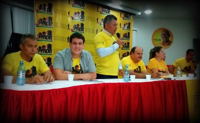 Deputado Edson Martins prestigia evento da Juventude do PMDB de Porto velho