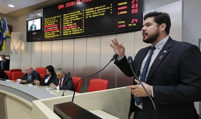 Jean Oliveira quer relatórios de empresas que recebem incentivo fiscal