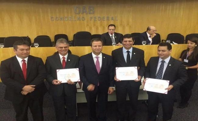 Conselheiros federais por Rondônia são empossados pelo presidente nacional da OAB