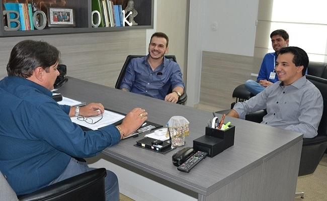 Raniery Coelho recebe visita de dirigentes da Associação de Jovens Empreendedores de Rondônia
