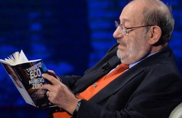Morre o escritor Umberto Eco aos 84 anos