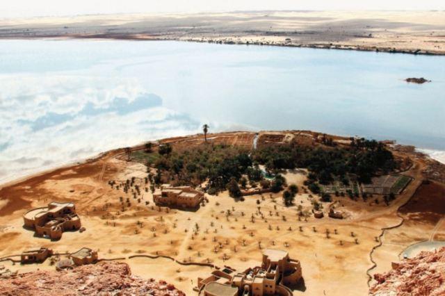 Adrere Amellal - Oásis de Siwa, Egito