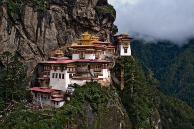 Ninho do tigre - Vale Paro, Butão