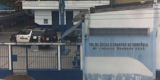 URGENTE: Polícia Civil realiza operação na Caerd em Porto Velho