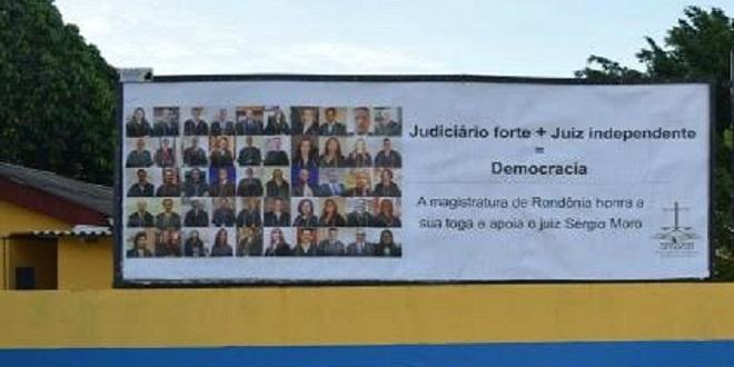 "Magistratura rondoniense lança campanha ""Judiciário forte + Juiz independente = Democracia"""
