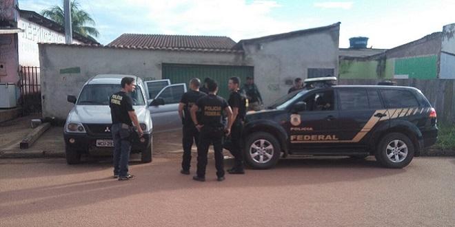 PF realiza operação no interior de Rondônia; vereador é preso