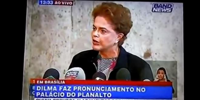 Dilma se atrapalha e 'quase' renuncia em entrevista