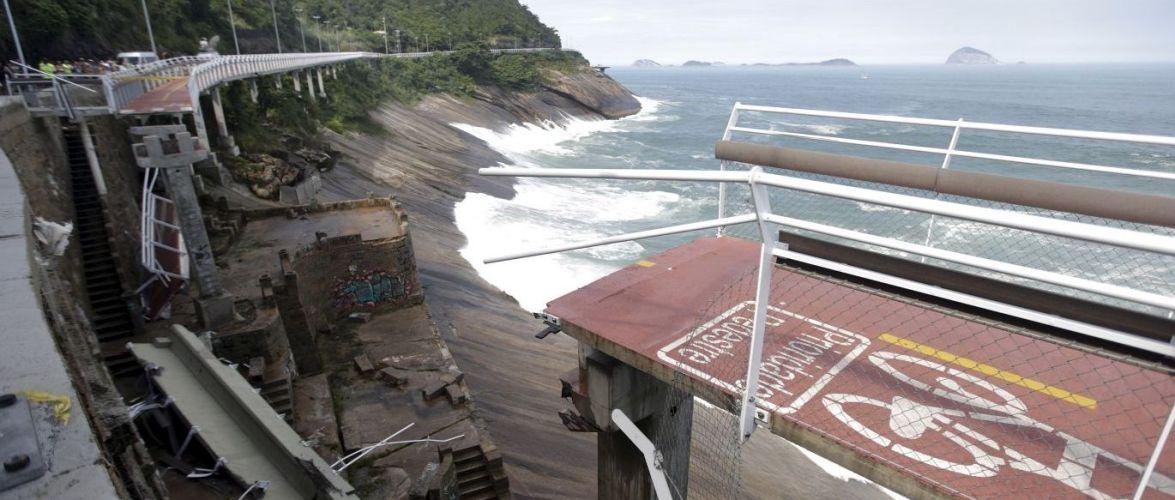 Tragédia em ciclovia mina credibilidade da Rio-2016, diz imprensa internacional