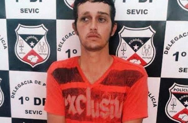 Foragido de Rondônia é preso no MT após bater no próprio pai