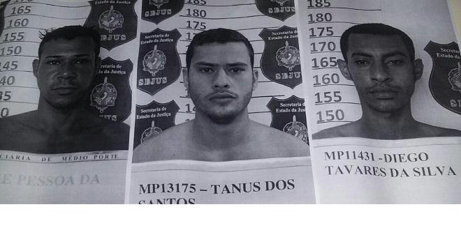ALERTA: autor de quatro homicídios, assaltante e assassino confesso fogem do Pandinha pulando o portão