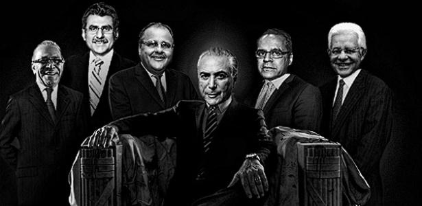 """Conheça os cinco """"homens fortes"""" que cercam o vice-presidente Michel Temer"""