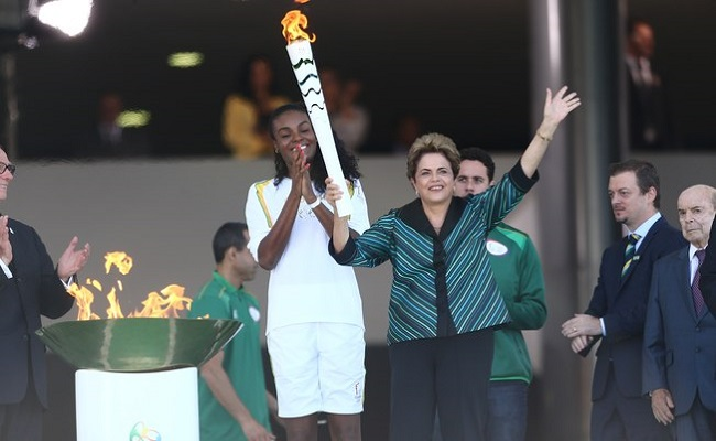 Dilma diz que Brasil fará 'a melhor Olimpíada' apesar do momento crítico