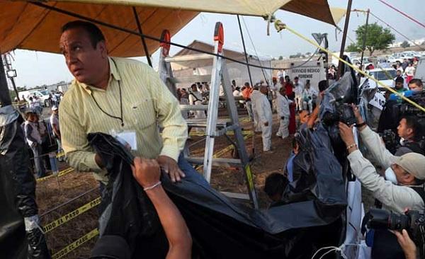No México, 116 corpos são encontrados em vala; ao menos 20 mil estão desaparecidos