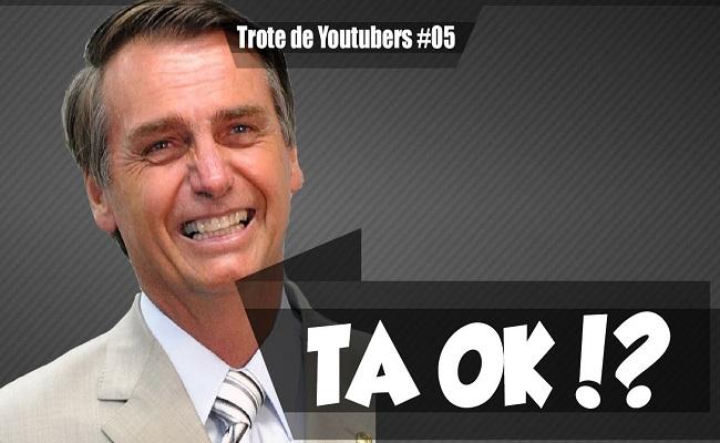 Canal faz trote com falas do Bolsonaro