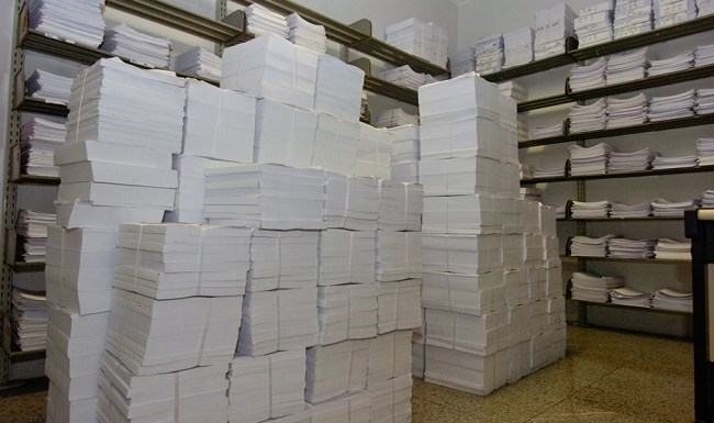 Na era eletrônica Senado gasta 23 mil resmas de papel em 2015