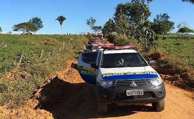 MST e a LCP ameaçam incendiar Fazenda Triângulo; PM faz vigília na região