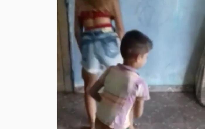 Vídeo de menina que é atrapalhada por irmão enquanto dança funk, viraliza na web
