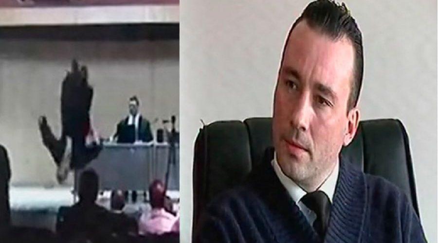 Advogado dá salto mortal no Tribunal do Júri no PR; Assista