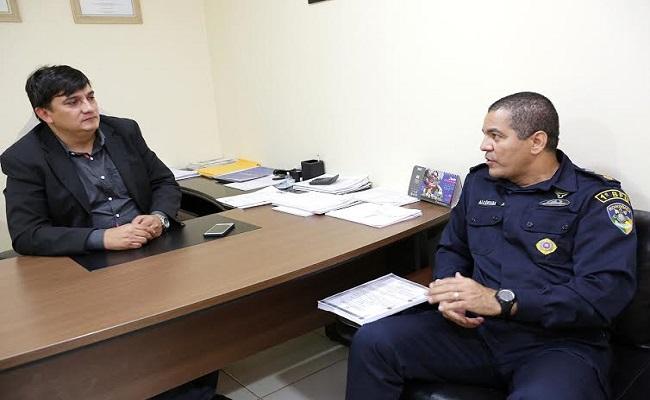 Cleiton Roque destina emenda para batalhão da Polícia Militar