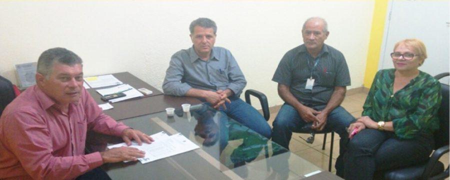 Deputado Edson Martins recebe em seu gabinete representantes da FUNASA
