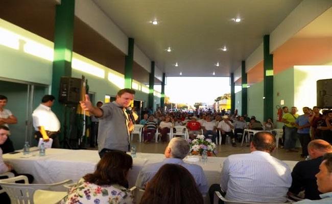 Luizinho Goebel anuncia mais benefícios para Cerejeiras em inauguração de rodoviária