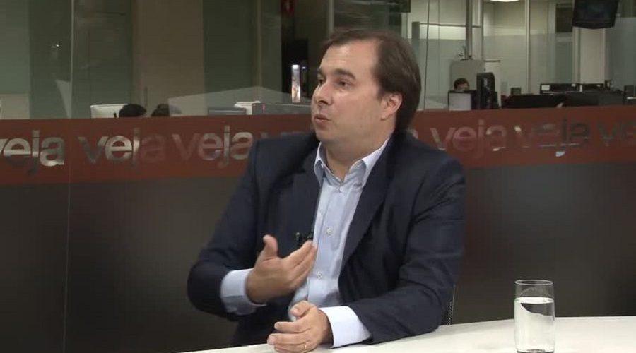 Maia pede respeito ao resultado de votação sobre medidas anticorrupção
