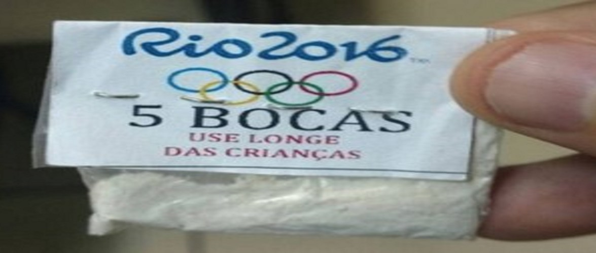 Traficantes do Rio vendiam cocaína 'personalizada' com Anéis Olímpicos