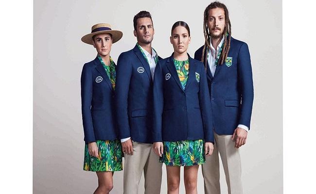 C&A e Lenny Niemeyer apresentam os uniformes sociais do time brasileiro nas Olimpíadas
