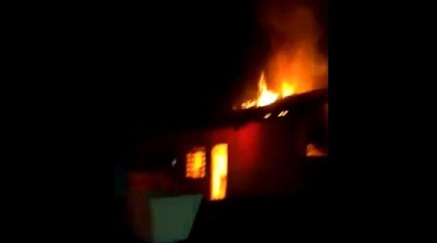 Filho de delegado teria ateado fogo na casa da ex-mulher