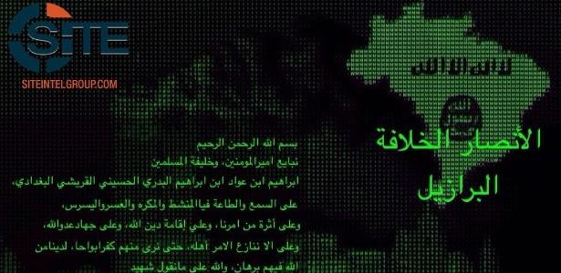 Grupo no Brasil declara apoio ao Estado Islâmico, diz agência americana
