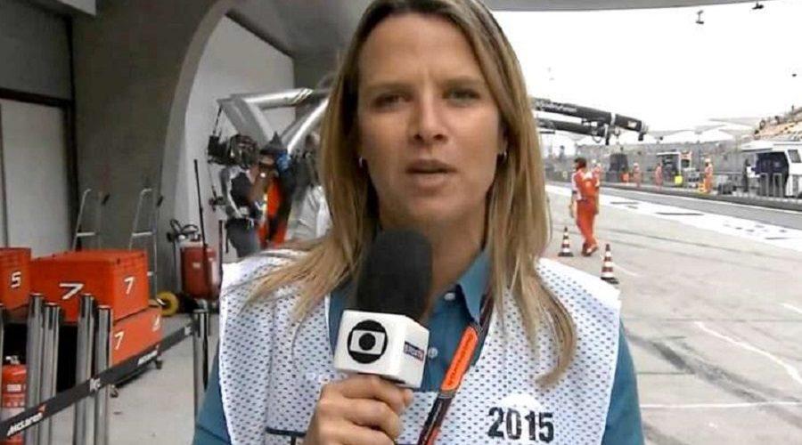 """Repórter da Globo avisa que """"vai fazer xixi"""" e áudio vaza durante transmissão da F1"""