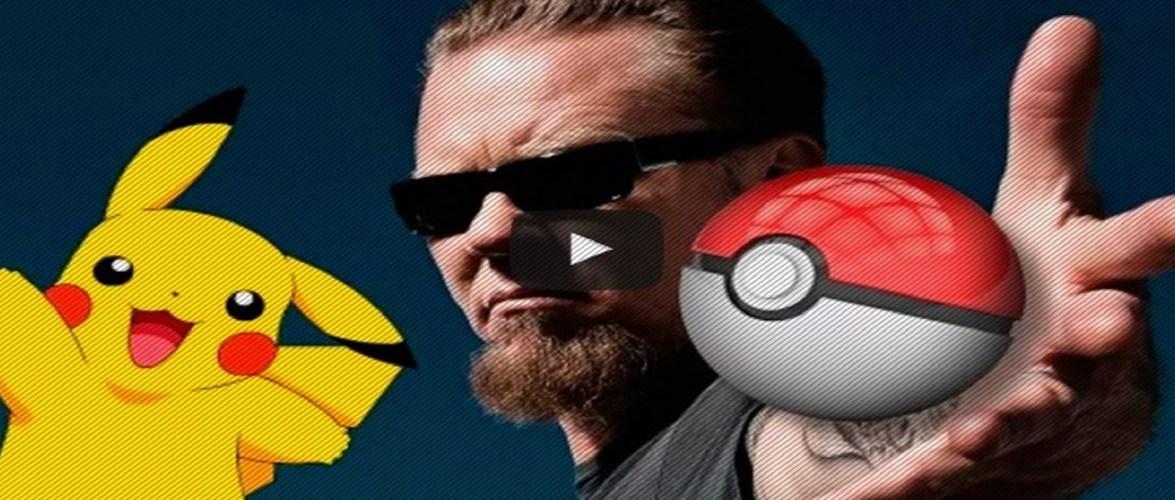 Metallica canta tema de abertura de Pokémonqueima 48 horas