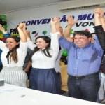 Rosani Donadon é confirmada como candidata a prefeita em Vilhena, Marcos Donadon não apareceu no evento