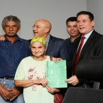 Maurão discute questão agrária de Rondônia e participa de entrega de títulos