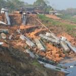 Lei proibia funcionamento de porto que desbarrancou no rio Madeira