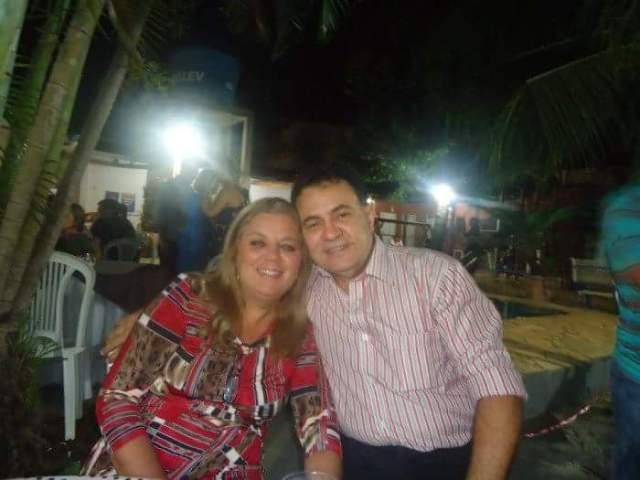 Joaquim Pedro Niemaier Duarte e esposa