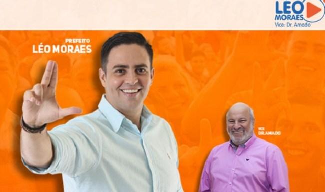 Léo Moraes é multado por propaganda eleitoral em local proibido