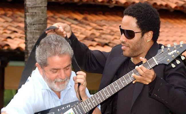 Lava Jato investiga guitarras doadas ao 'Fome Zero' que ficaram com Lula