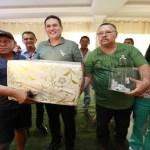 Maurão de Carvalho prestigia festa em comemoração ao Dia do Servidor Público