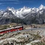 Ferrovia entre Itália e Suíça é opção de viagem de outono