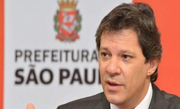 TJ/SP absolve Fernando Haddad por pegadinha em agenda oficial